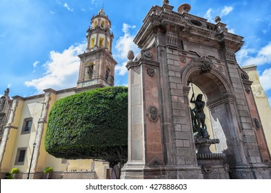 Queretaro downtown architecture