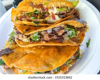 Quesabirria Taco Order, 3 Tacos