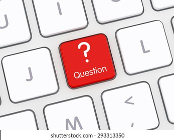 Question Sign Computer Keyboard
