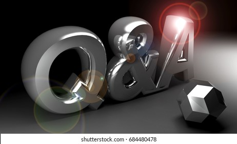 Questions & Answers - 3D rendering