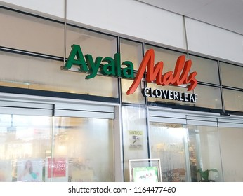 QUEZON CITY, PH - AUG. 17: Ayala Malls Cloverleaf mall letter signage on August 17, 2018 in Quezon City, Philippines. Ayala Malls brand is a mall with branches nationwide in the Philippines.