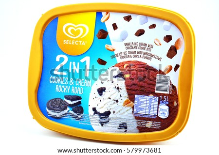 selecta ice cream products