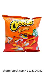 QUEZON CITY, PH - JUNE 15: Cheetos cheese snack pack on June 15, 2018 in Quezon City, Philippines. Frito Lay is a manufacturer of snack foods in the USA.