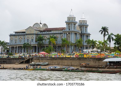Chocó, Quibdo, Colombia. March 4, 2020: San Francisco of Asis cathedral.