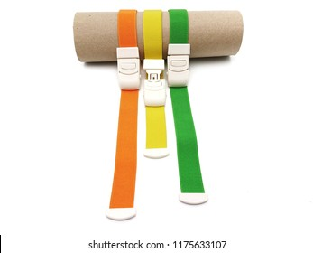Quick elastic slow blood first aid, Bleeding tourniquet with Buckle, Emergency medical supplies with white background