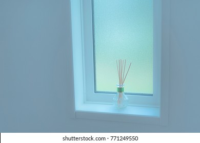 Quiet and calm window in a Japanese home