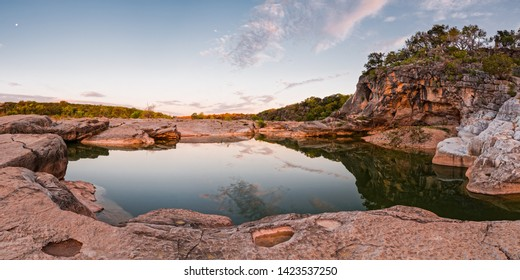 Quiet Contemplation at Pedernales Falls State Park - Johnson City Texas Hill Country