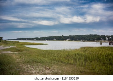 A quiet morning along the intercoastal waterways of North Carolina