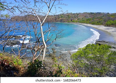 The quiet Playa Prieta in Peninsula Papagayo in Guanacaste, Costa Rica