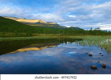 Quiet Pond in the Mountains