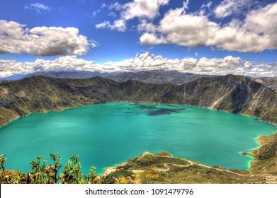 Laguna Quilotoa Hd Stock Images Shutterstock