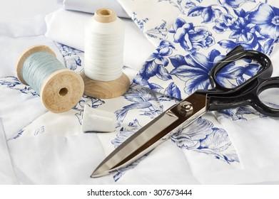 Quilt Equipment in blue