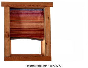 Quilted Window Shade