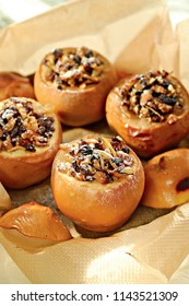Quince with nuts