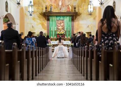 quinceanera church event ceremony