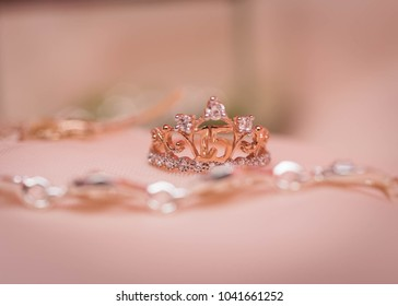 quinceanera ring and bracelet