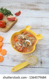 Quinoa boiled rice for kids