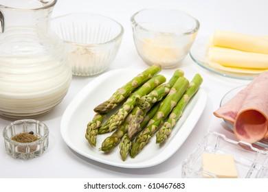 Quinoa crepes preparation : Ingredients for the quinoa crepes filling