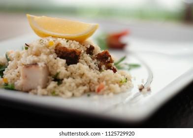 quinoa and rocket  salad