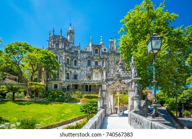 Quinta da Regaleira in Sintra, near Lisbon, Portugal.