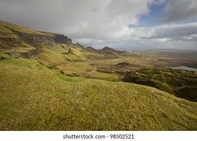 The Quiraing Isle of Skye Scotland