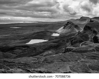 Quiraing Mountains, Isle of Skye, Scotland