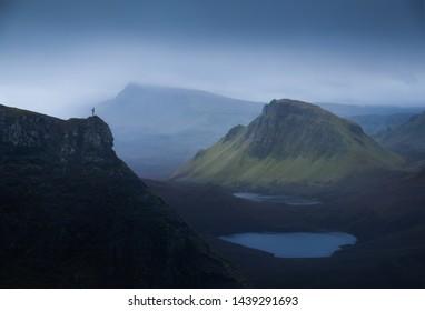 Quiraing on the Isle of Skye, Scotland