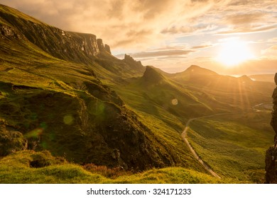 The Quiraing, Skye, Scotland