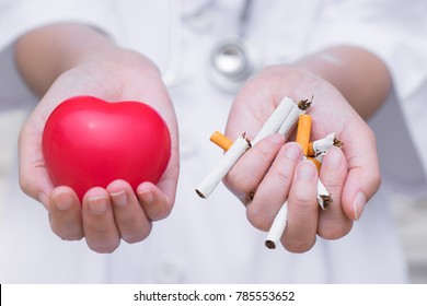 Quit smoking keeps your heart healthy.