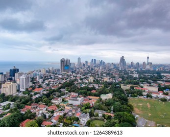 It's quite gloomy over Colombo city.. one of the best holiday spots..