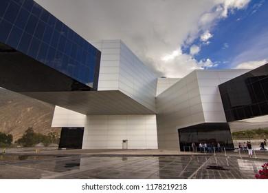 Quito, Ecuador; 01/01/2017: UNASUR bulding