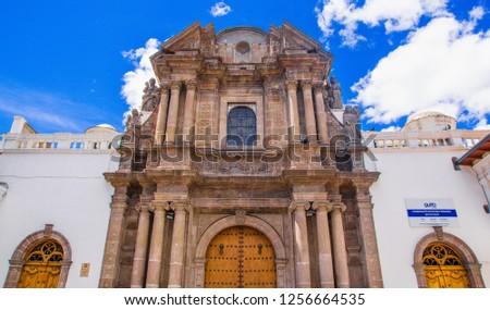 Quito Ecuador August 28 2018 Breautiful Stock Photo Edit Now