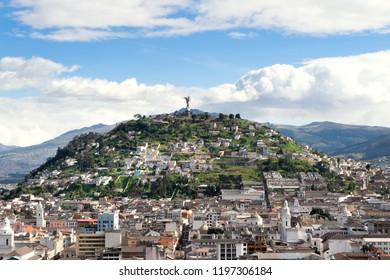Quito, Ecuador La Virgen De Quito