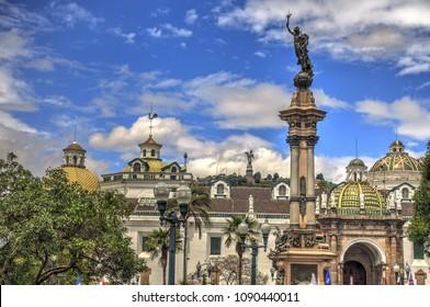 Quito landmark, Ecuador