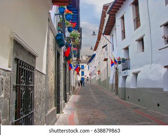Quito streets, Old Town