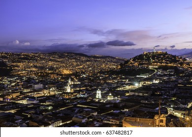Quito at twilight