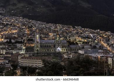 Quito at twilight