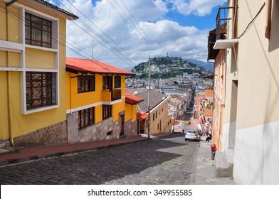 Quito Viejo, Ecuador.