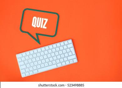 Quiz, Education Concept