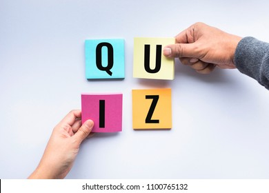 Quizz Images, Stock Photos & Vectors | Shutterstock