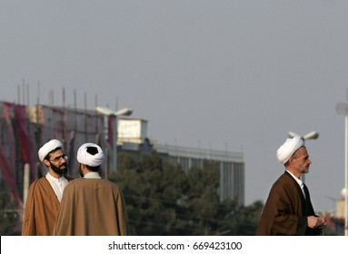 Qum,Iran - February 12,2008 : The city of qum, Iran's most radical.approximately 30,000 Muslim cleric in the city have.