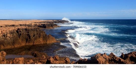 Quobba coastline, Carnarvon, Western Australia