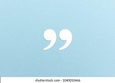 Quotation Marks background