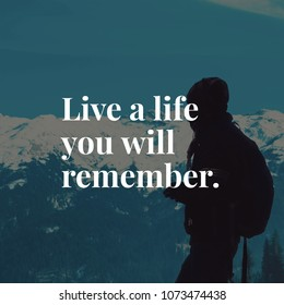 Quote about life.
