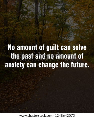Quote Best Inspirational Motivational Quotes Sayings Stock Photo