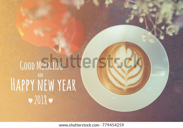 quote good morning happy new year stock photo edit now