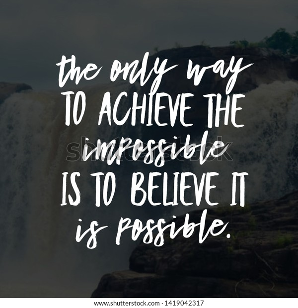 Quote Happy Life Motivational Inspirational Quotes Stock