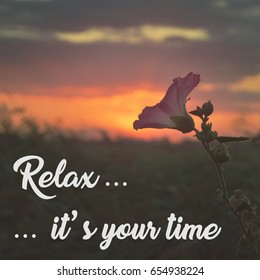 Relax Quotes Stock Photos Images Photography Shutterstock