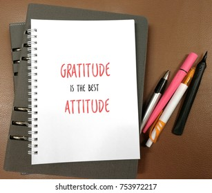 Quotes on gratitude and attitude