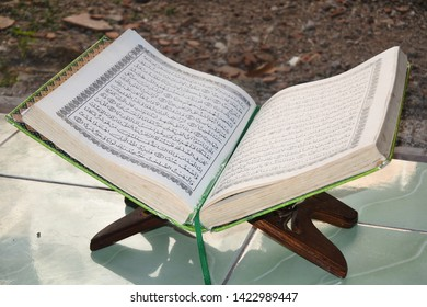 """""""Qur'an"""" the holy book of Islam, Central Java, Indonesia, June, 04, 2019"""